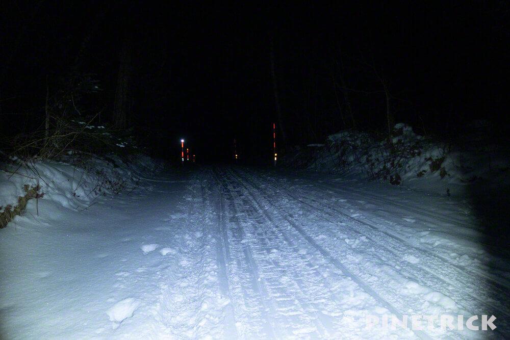 樽前山 道々141号線 登山