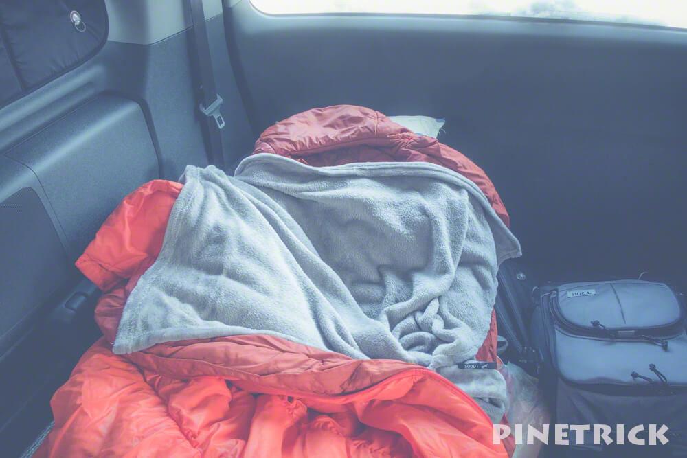 ロゴス LOGOS 車中泊 寝袋 丸洗いやわらかインナーシュラフ モンベル