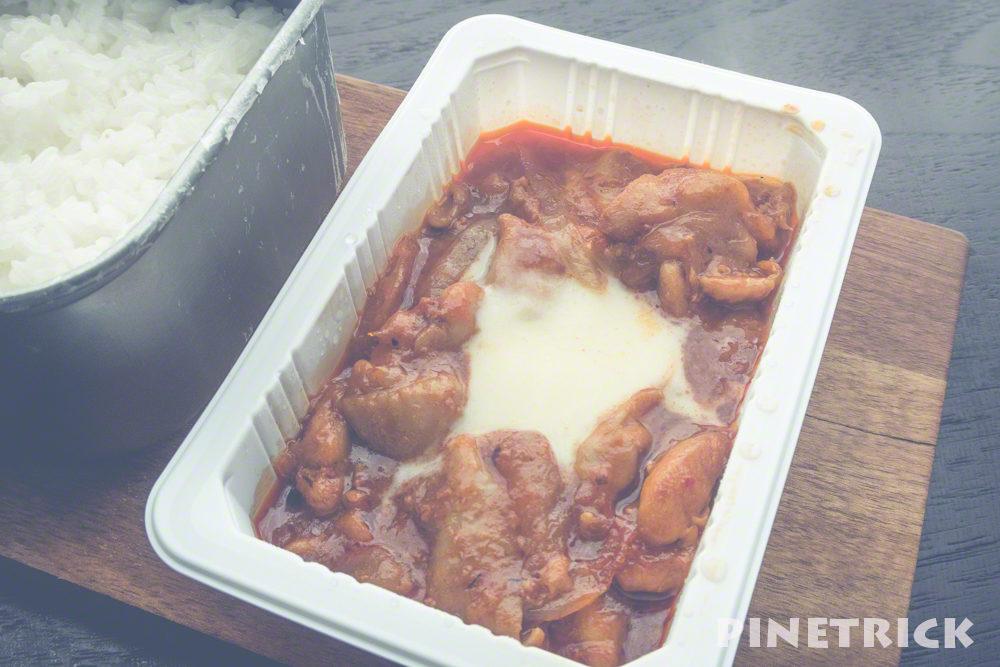 レンチン チーズダッカルビ セブンイレブン 冷凍食品 昼食 辛い