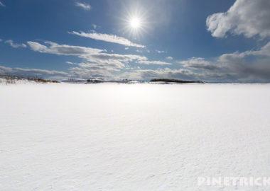 雪原 太陽 LR lightroom ファイルが見つかりません