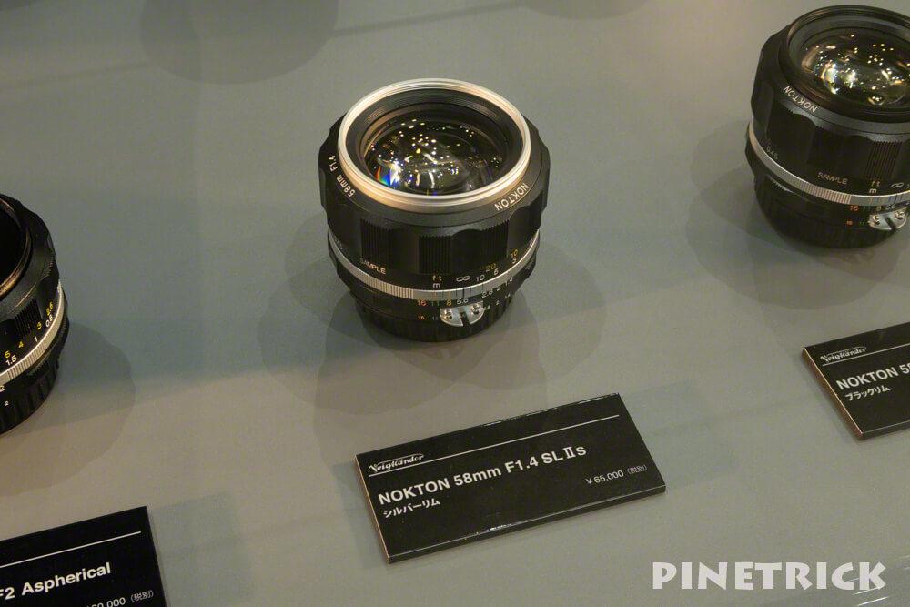 NOKTON 58mm F1.4 SL Ⅱs シルバーリム