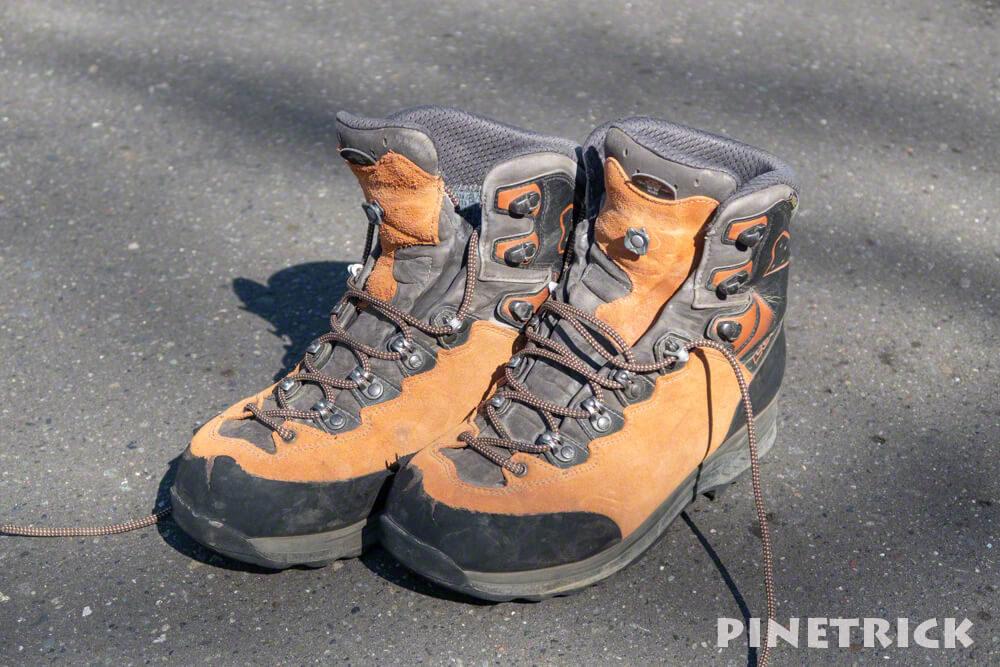 登山靴 夏靴 ティカム LOWA GTX  樽前山