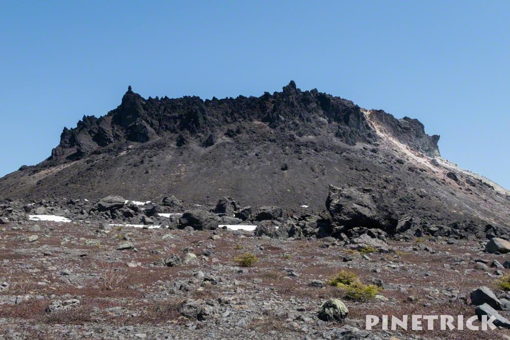 溶岩ドーム 鬼 樽前山 登山 ハイキング トレッキング