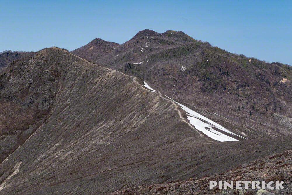 932峰 風不死岳 樽前山 登山 ハイキング トレッキング