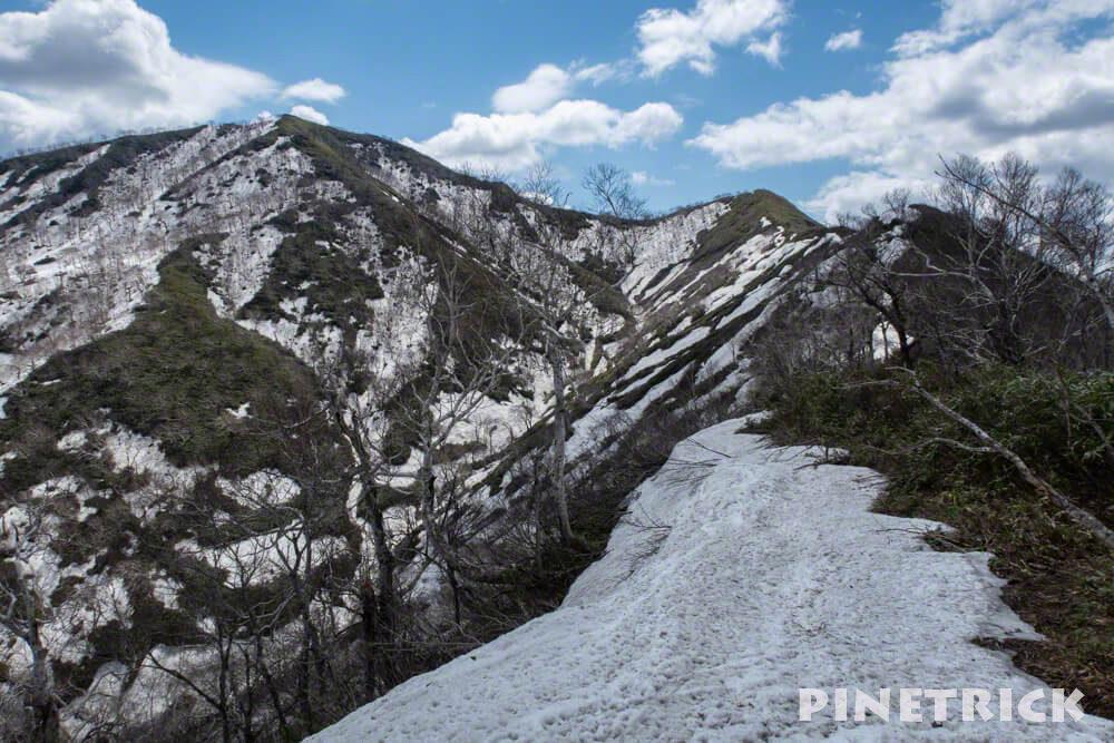 Bコース 稜線 登山