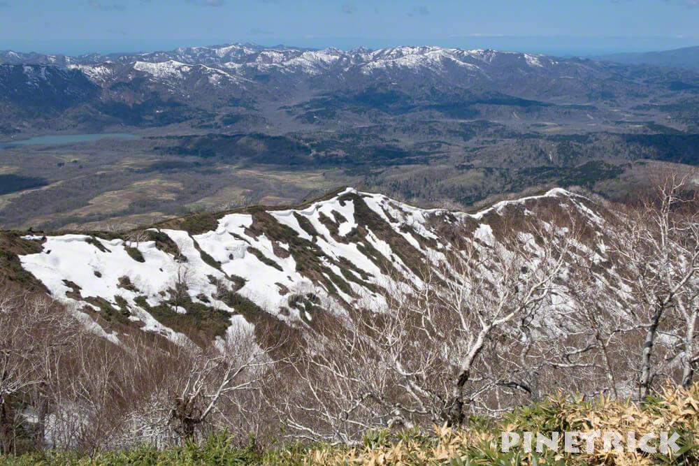 神居尻山 Bコース 稜線