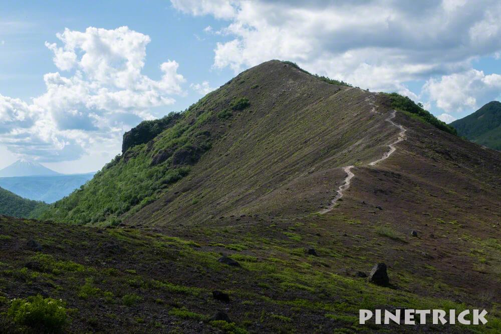 樽前山 932峰 登山 トレッキング