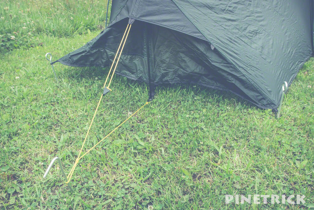 テラノバ レーサーコンペティション1 ガイドライン 軽量テント