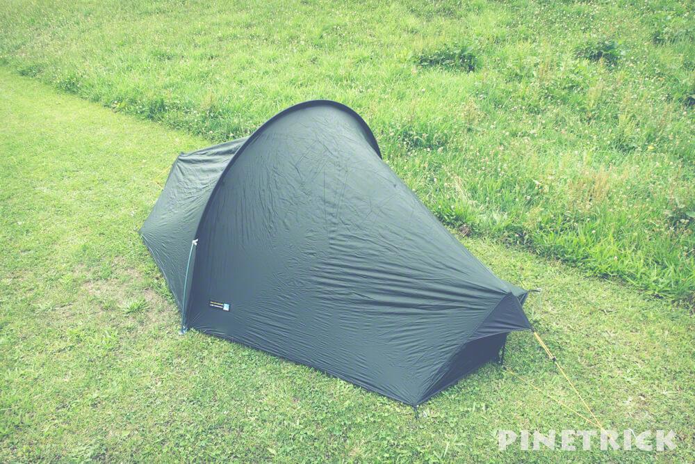 テラノバ レーサーコンペティション 1 軽量テント テント泊 登山