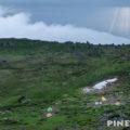 トムラウシ山南沼キャンプ指定地でテント泊(短縮コースから)