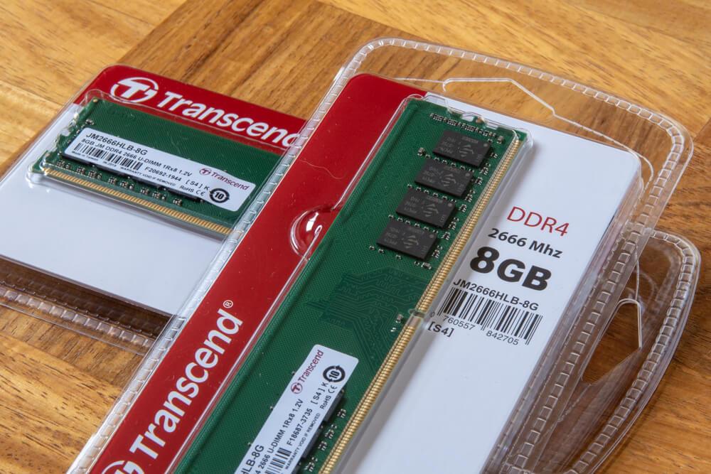トランセンド Transcend デスクトップPC用メモリ PC4-21300 (DDR4-2666) 8GB