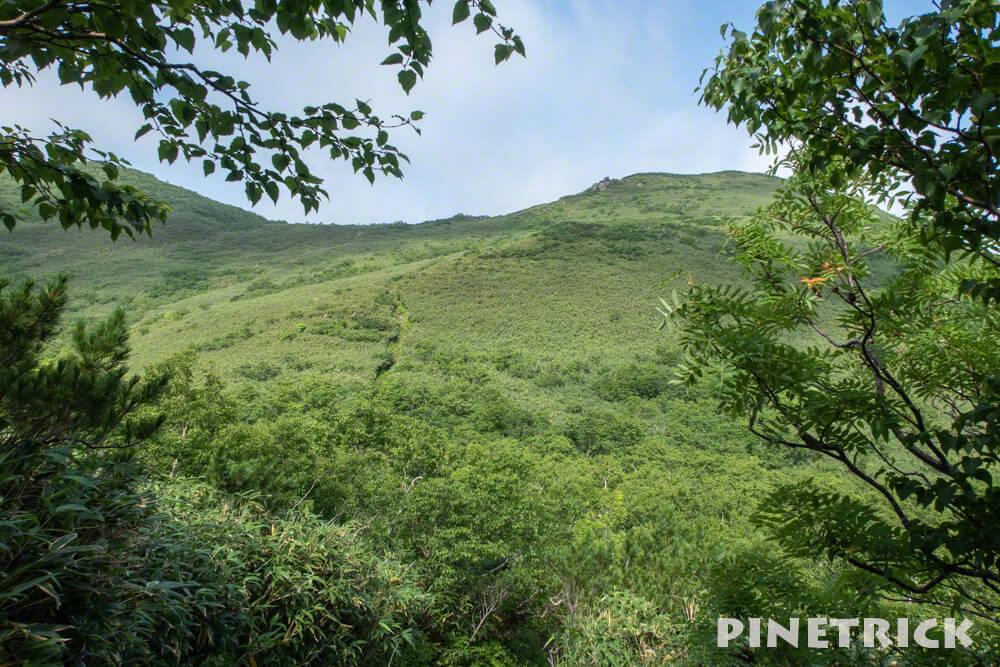 ニトヌプリ 登山 ニセコ ハイキング