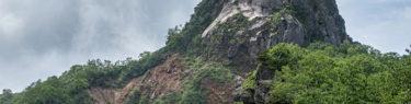 恵庭岳 山頂 第二見晴台 自己責任