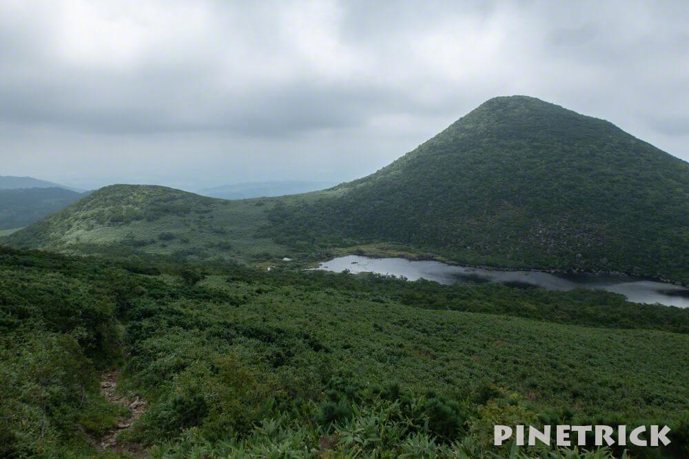 シャクナゲ岳 シャクナゲ沼 登山 ニセコ