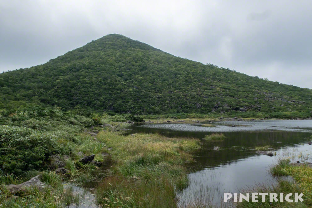 シャクナゲ沼 シャクナゲ岳 ニセコ 登山 トレッキング
