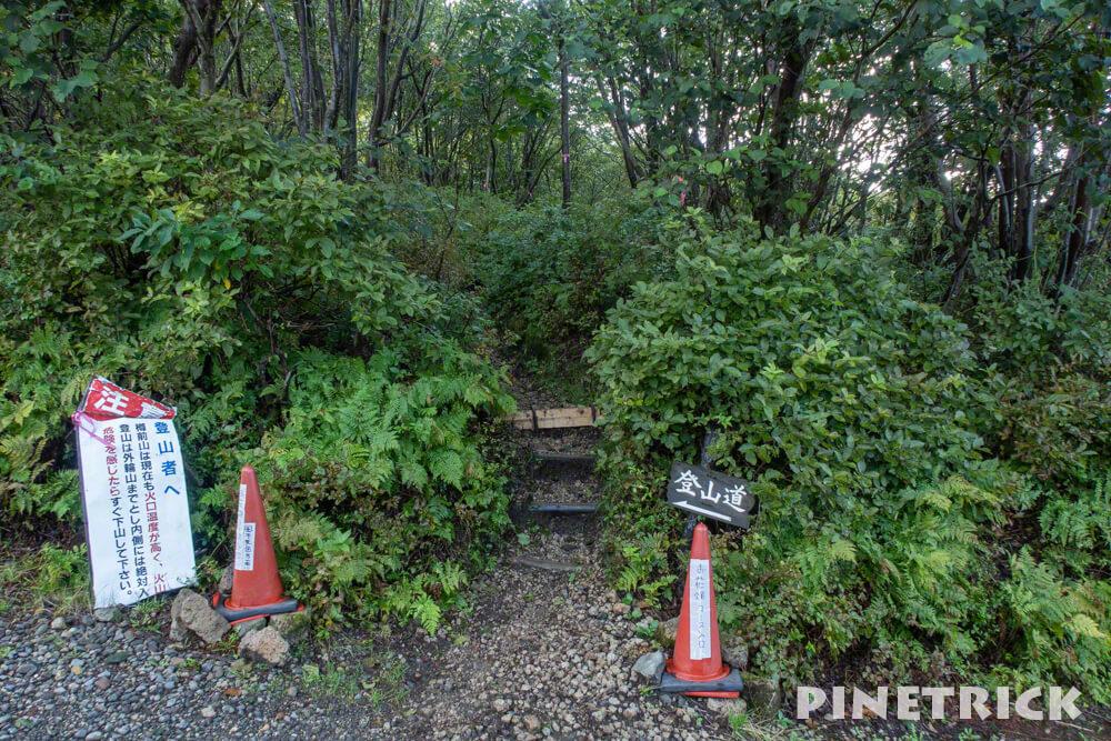 樽前山 お花畑コース 登山 北海道 トレッキング ハイキング