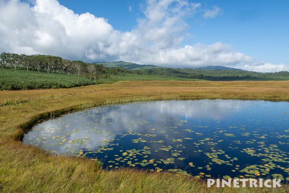 雨竜沼湿原 鏡面 ミラー 北海道 登山 トレッキング ハイキング