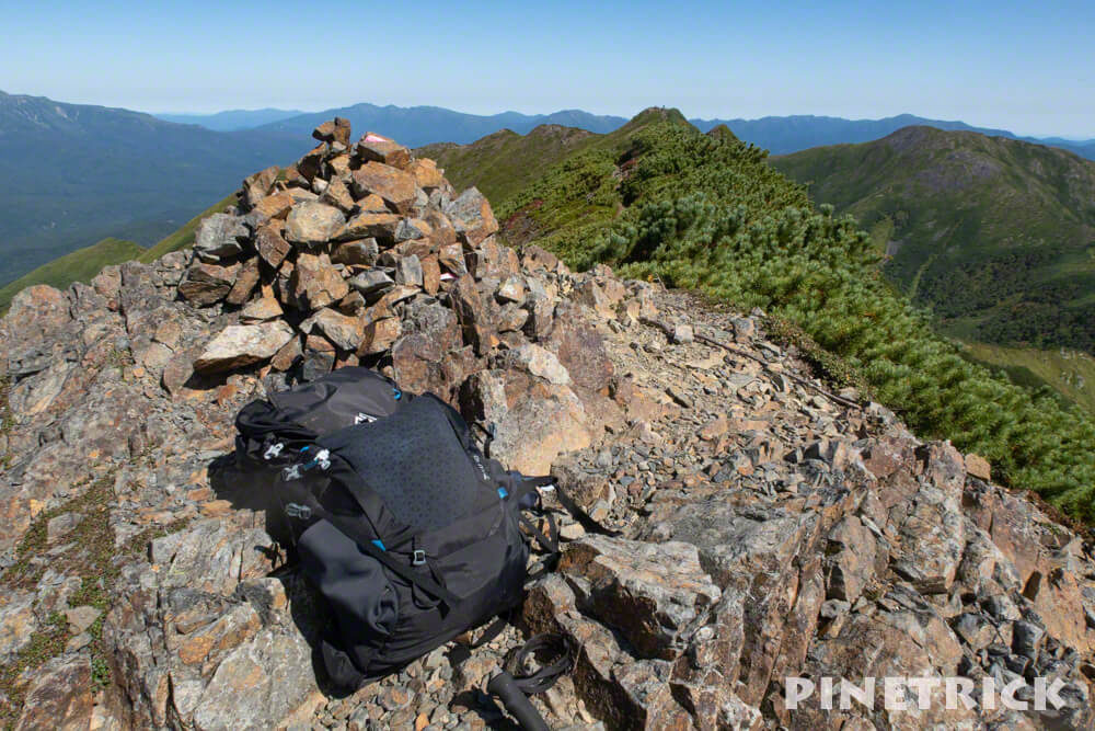 1967ピーク 石狩岳 登山 北海道 グレゴリー zulu40
