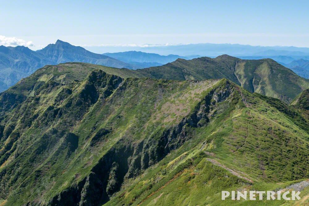 石狩岳 ニペソツ山 縦走 トレッキング 沼の原