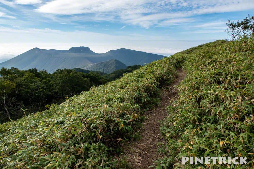 風不死岳 樽前山 北尾根コース 登山 北海道