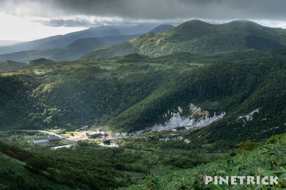 ニセコアンヌプリ 五色温泉 サンセット登山 スポットライト 北海道