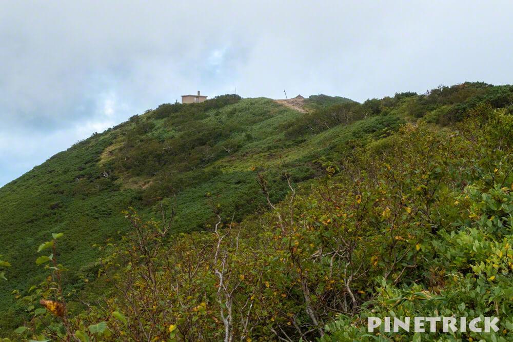 ニセコアンヌプリ サンセット登山 避難小屋 山頂 北海道
