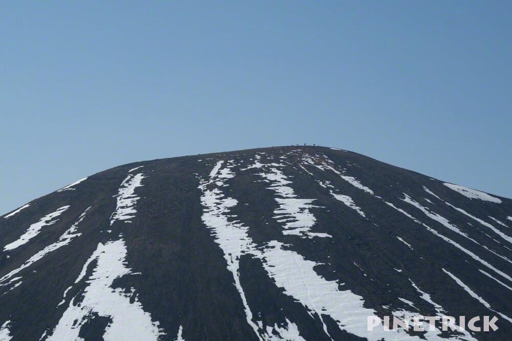 大雪山 旭岳 北海道 人 登山 トレッキング 絶景 山頂