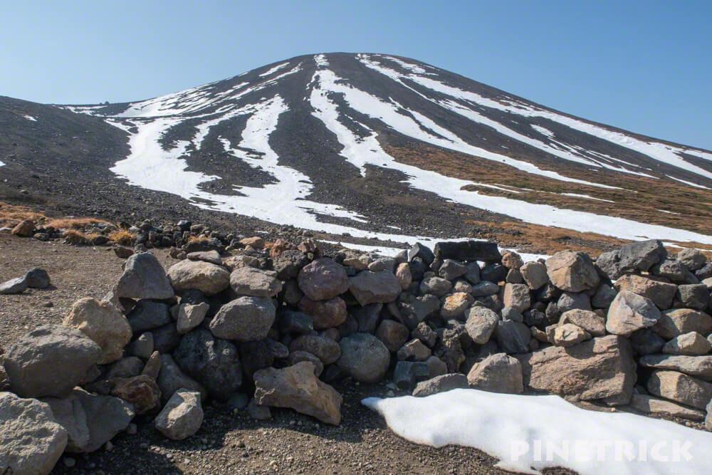 大雪山 旭岳 ロープウェイ 紅葉 北海道 登山 裏旭キャンプ指定地 サークル