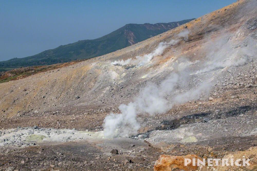 大雪山 旭岳 噴煙 轟音 危険 登山 北海道