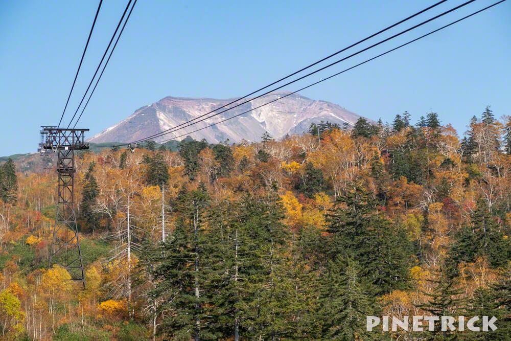 大雪山 旭岳 ロープウェイ 紅葉 絶景 観光名所 インスタ映え北海道 登山