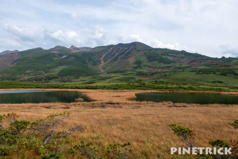大雪山 当麻岳 沼の平 北海道 登山 紅葉