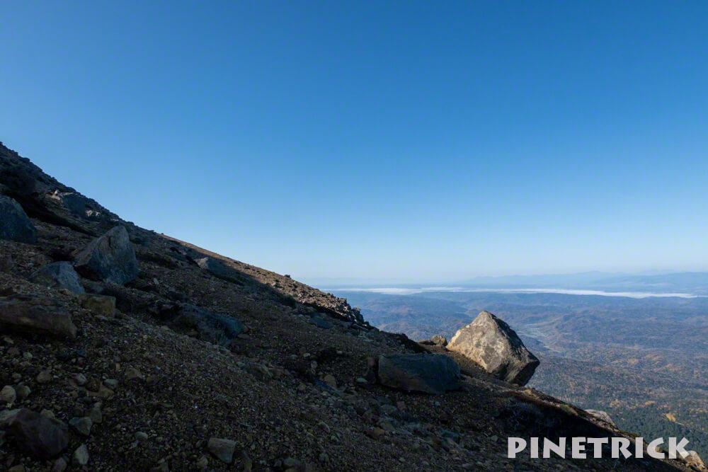 雌阿寒岳 雌阿寒温泉コース 北海道 登山