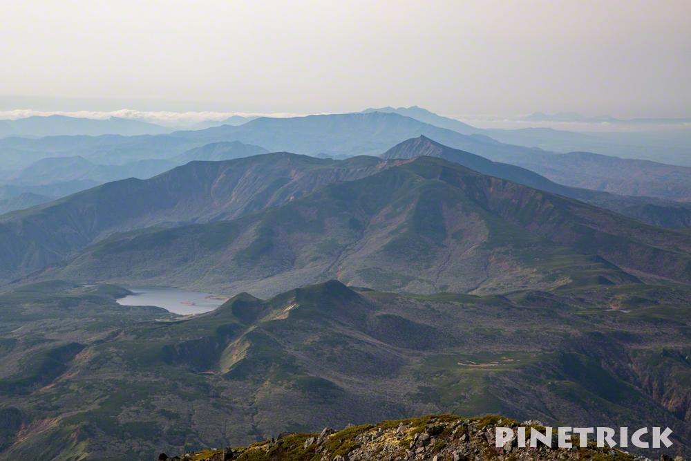羅臼湖 羅臼岳 登山 北海道 知西別岳