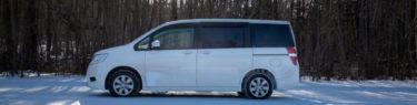 ステップワゴン DBA-RK2 車中泊 シートアレンジ スチールラック