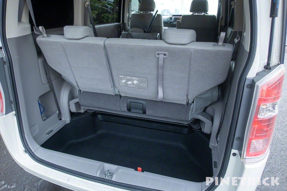 ステップワゴン DBA-RK2 車中泊 シートアレンジ