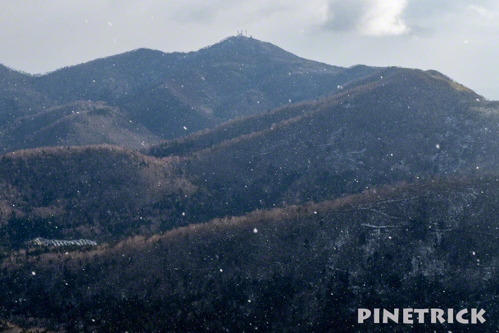 イチャンコッペ山 紋別岳 北海道 冬山 登山 電波塔