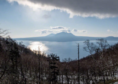 イチャンコッペ山 北海道 支笏湖 樽前山 風不死岳 冬山 登山
