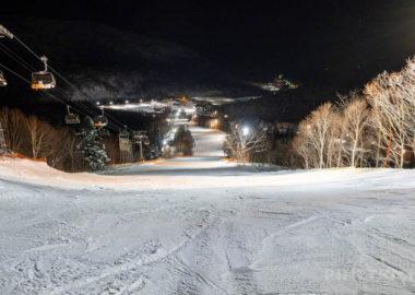 キロロ 赤井川村 中級コース スキー スノーボード 北海道 ナイター ゲレンデ