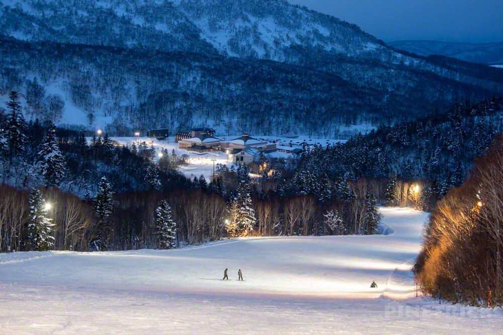 赤井川村 キロロ スキー スノーボード ナイター 北海道