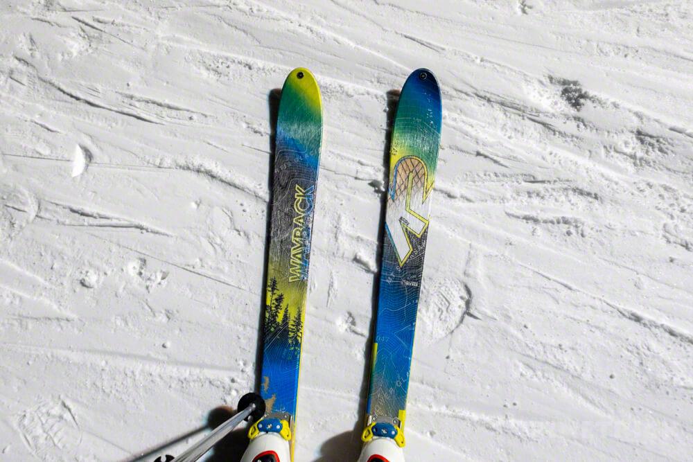 山スキー k2 wayback 赤井川村 北海道 スノーボード キロロ