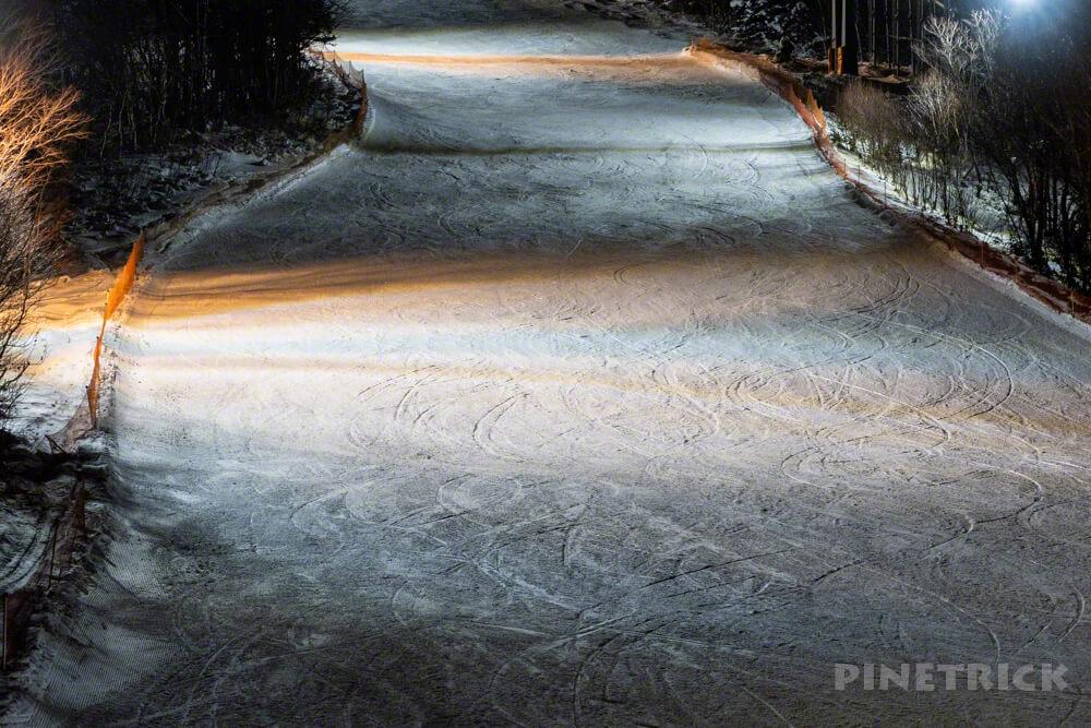 キロロ 中級コース スノーボード スキー 北海道