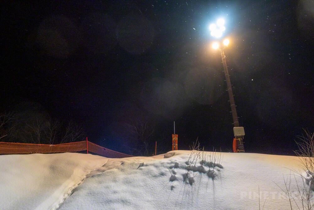 キロロ 中級コース スキー スノーボード 北海道 赤井川村 ナイター