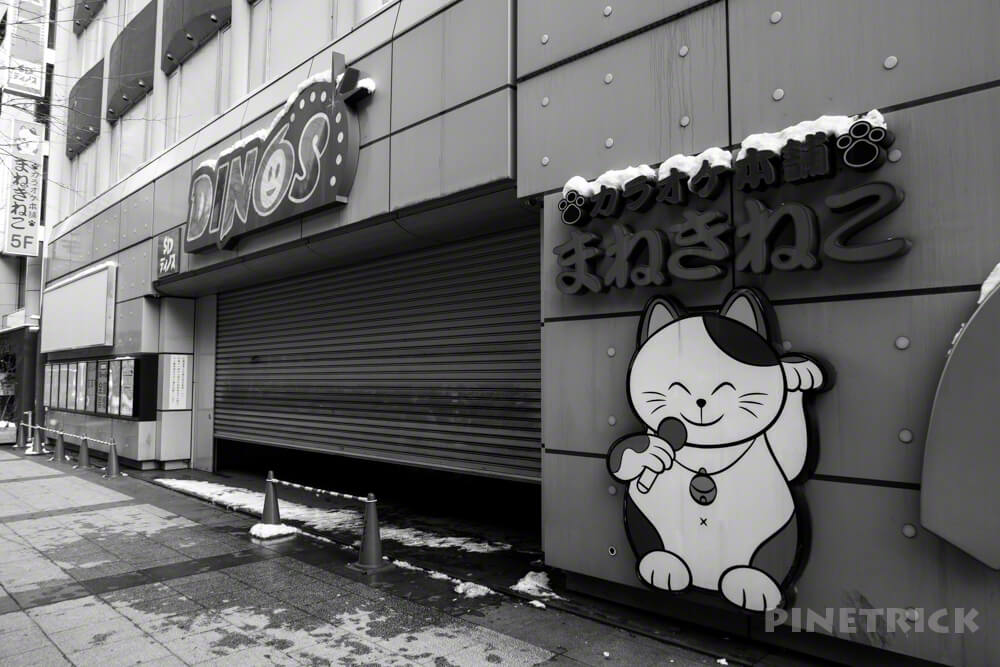 まねき猫 カラオケ スガイディノス 映画館 札幌市 閉館 g7xmk3
