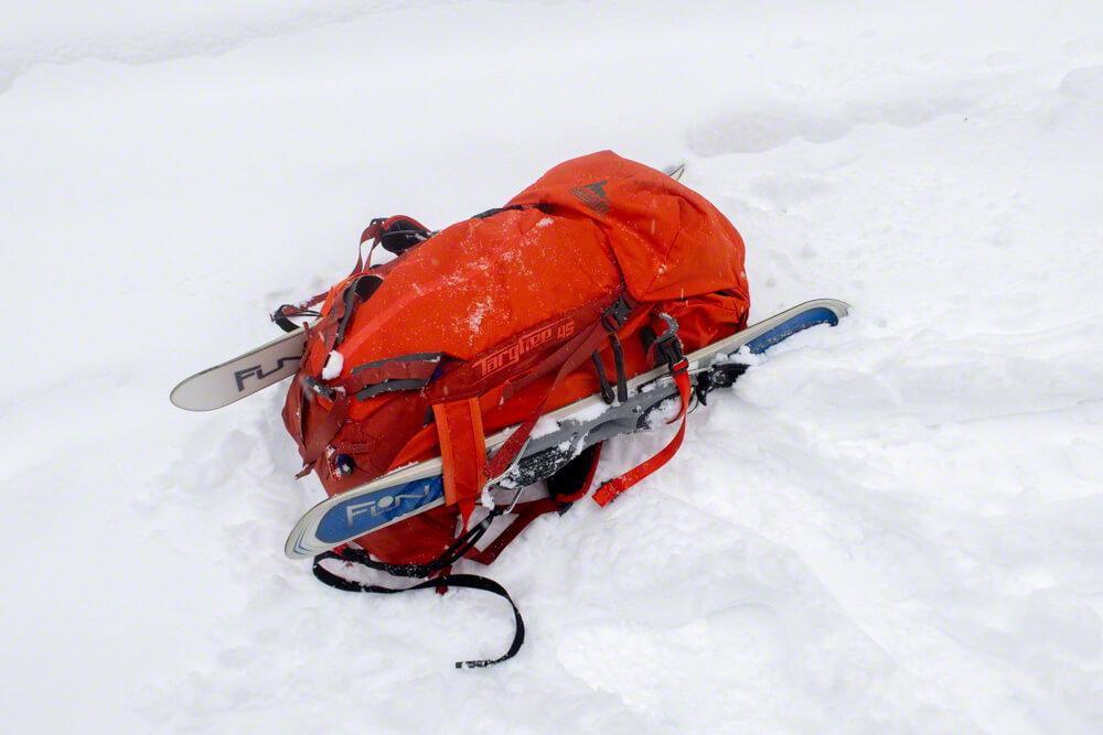 ミニスキー ファンスキー 樽前山 冬山 1月 ロシニョール グレゴリー ザック ターギー45