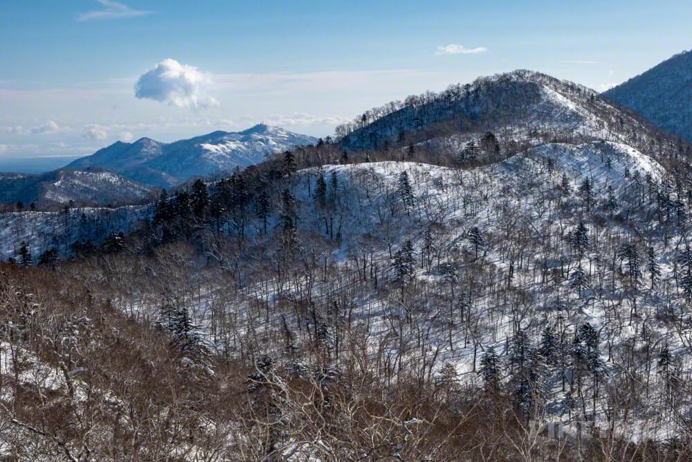 漁岳 紋別岳 鉄塔 電波塔 北海道 冬山 登山