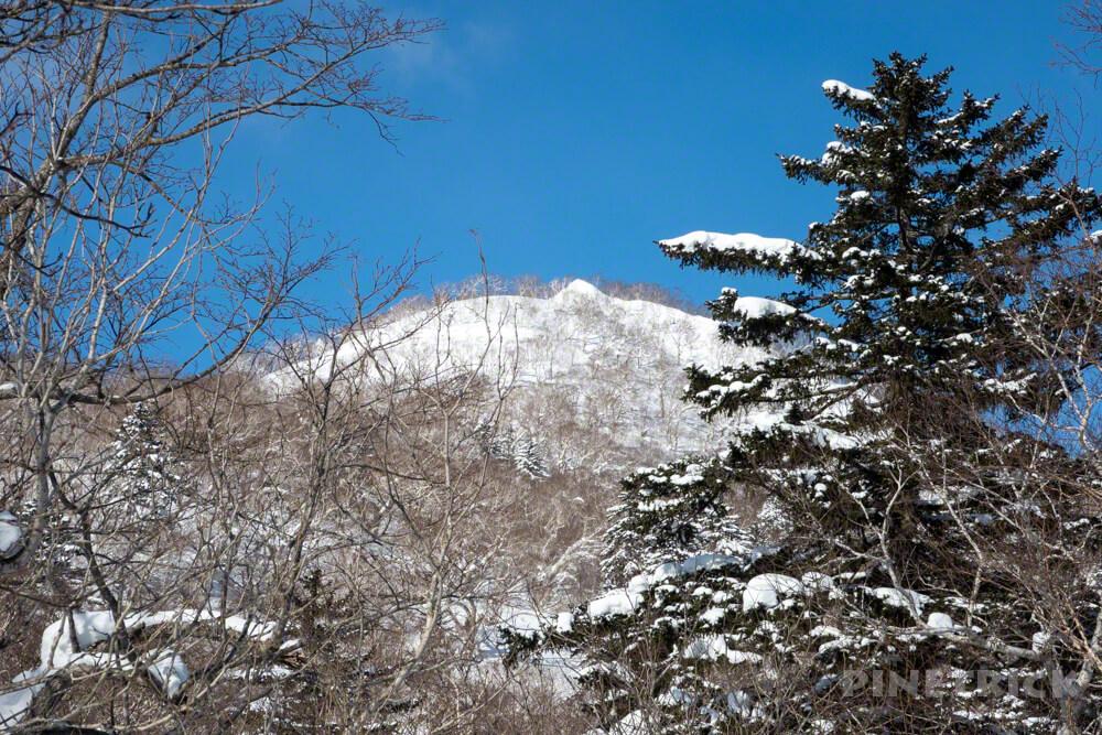 漁岳 1175  冬山 登山 北海道