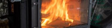 薪ストーブ ロマンチカル薪ストーブ opposite 新保製作所 炎 小樽 空焚き