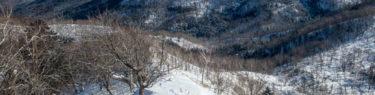 幌平山 イチャンコッペ山 785 トレース スノーシュー 北海道 支笏湖 天気