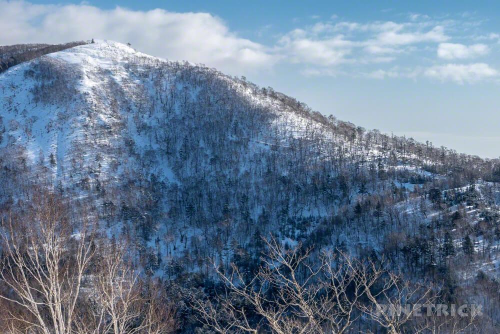 785 幌平山 イチャンコッペ山 支笏湖 登山 冬山 北海道