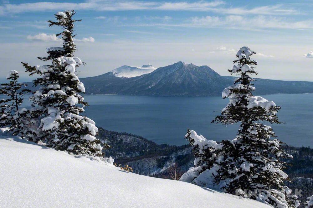 支笏湖 樽前山 風不死岳 イチャンコッペ山 登山 冬山 北海道